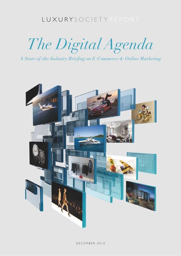 LS Report: The Digital Agenda