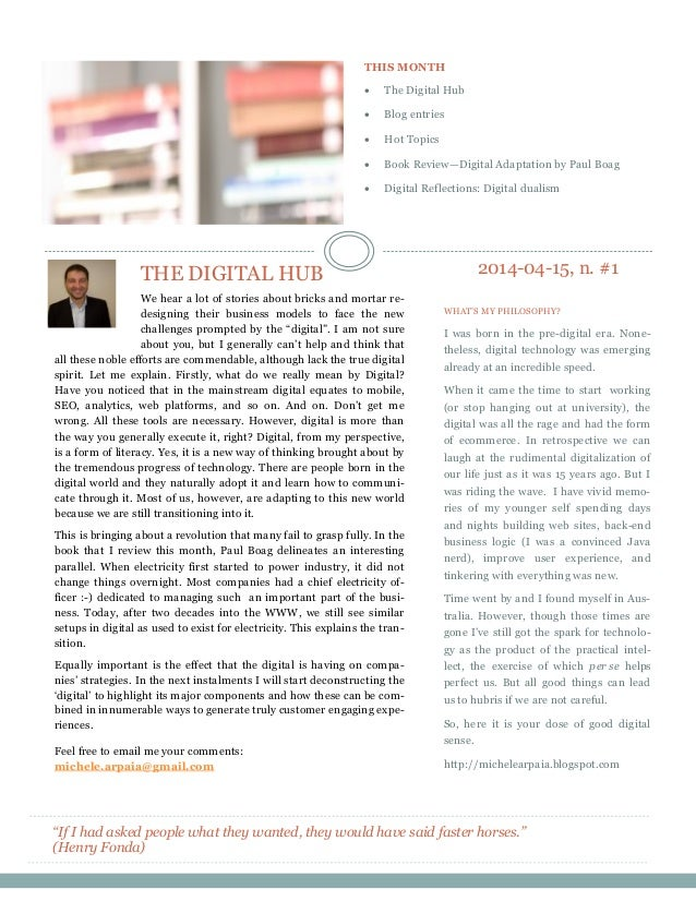 The digital hub 2014 04-15 #1