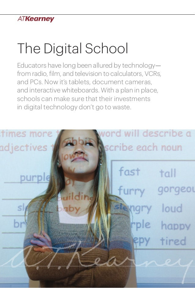 The Digital School Educators have long been allured by technology— from radio, film, and television to calculators, VCRs, ...