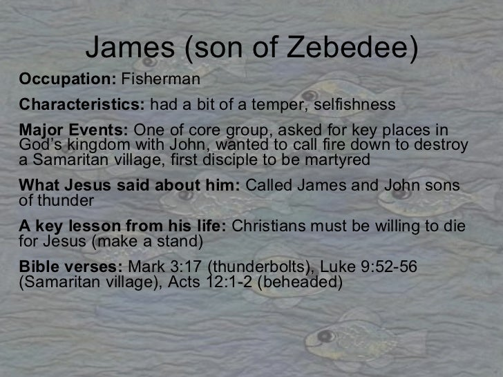 The disciples as role models Role Model Quotes From Bible