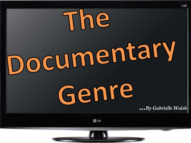 The purpose of a documentary is to document i.e. Report with evidence, something that has actually happened. It can show t...