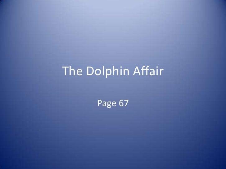 The dolphin affair