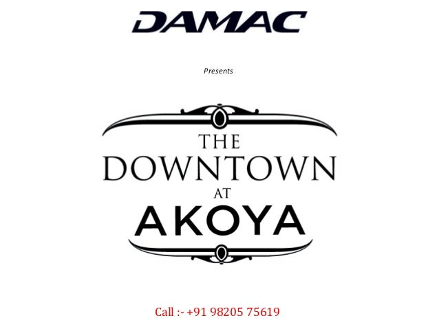 The Downtown at Akoya by Damac - Prices, Location Map, Floor Plans, Payment Plan, Brochure, Apartments