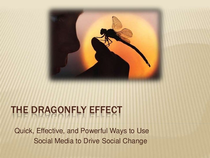 The Dragonfly Effect <br /> Quick, Effective, and Powerful Ways to Use<br /> Social Media to Drive Social Change<br />