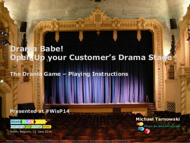 The Drama Game – Instructions & Material