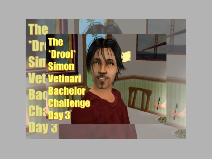 Break out your bibs and buckets: It's time for the *Drool* Simon Vetinari Bachelor Challenge!  This is Day 3: more hot-tub...