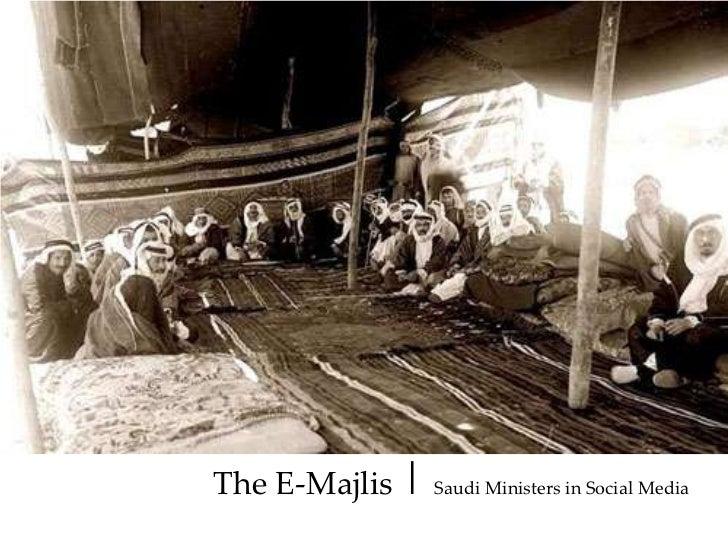 The E-Majlis| Saudi Ministers in Social Media<br />