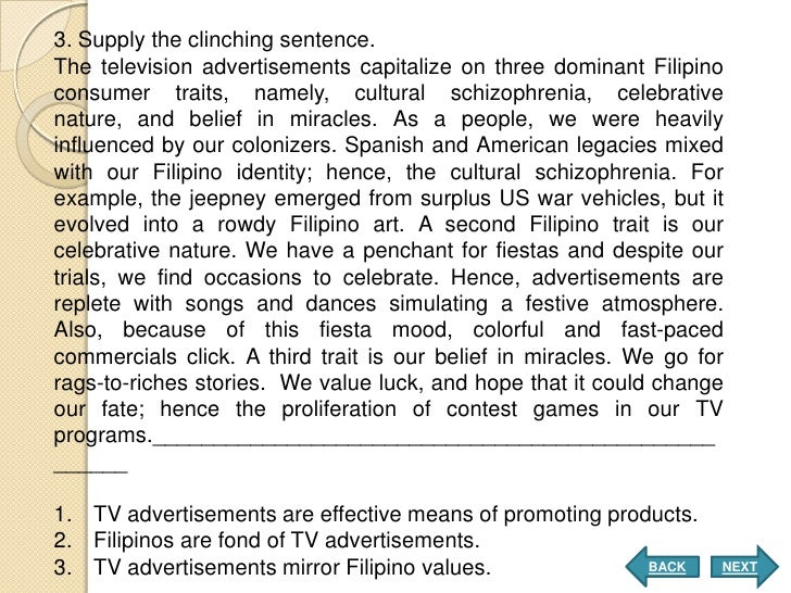 teleserye the emerging popular culture of filipinos essay Course title: advanced filipino online philippine popular culture and issues of race indigenous constellations of the filipinos) by dante ambrosio (essay).