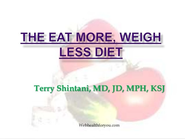 Terry Shintani, MD, JD, MPH, KSJWebhealthforyou.com