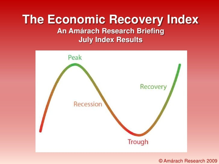 The Economic Recovery Index<br />An Amárach Research BriefingJuly Index Results<br />© Amárach Research 2009<br />