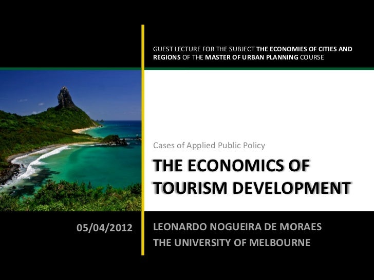 GUEST LECTURE FOR THE SUBJECT THE ECONOMIES OF CITIES AND                                             ...