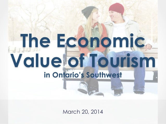 Communicating the Economic Value of Tourism