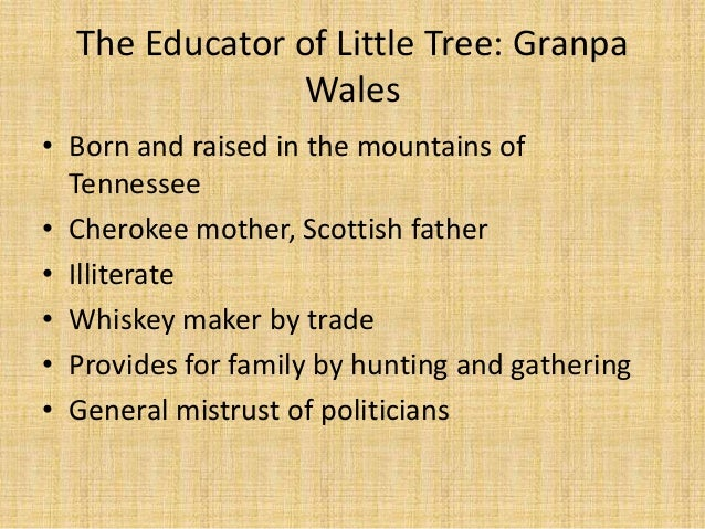 the education of little tree thesis The education of little tree english granma titles him little tree when they have the essay published on the uk essays website then please.