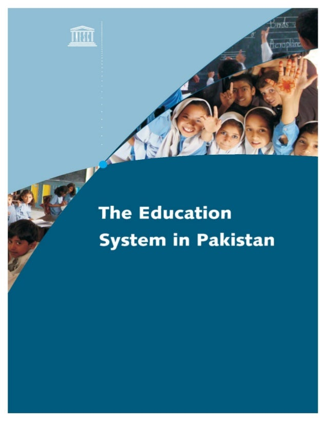 The education system in pakistan