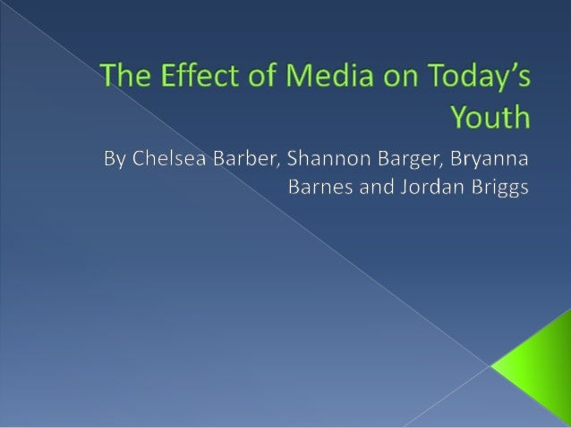 the effect of media influences on youth essay