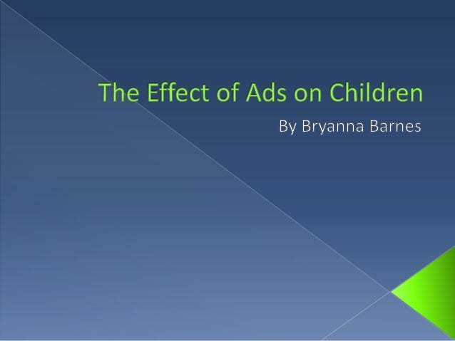 the effects of advertising on teens In a study of more than 12,000 teenagers to investigate the effects of fast food advertising on teenagers, teens who spent more than two hours watching commercial tv were likely to indulge in eating unhealthy foods like fast foods, sugary drinks and snacks than those who did not results from the study also indicated that fast food ads on.