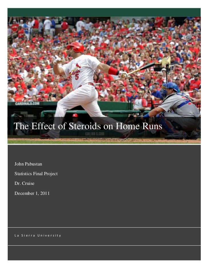The Effect Of Steroids On Home Runs