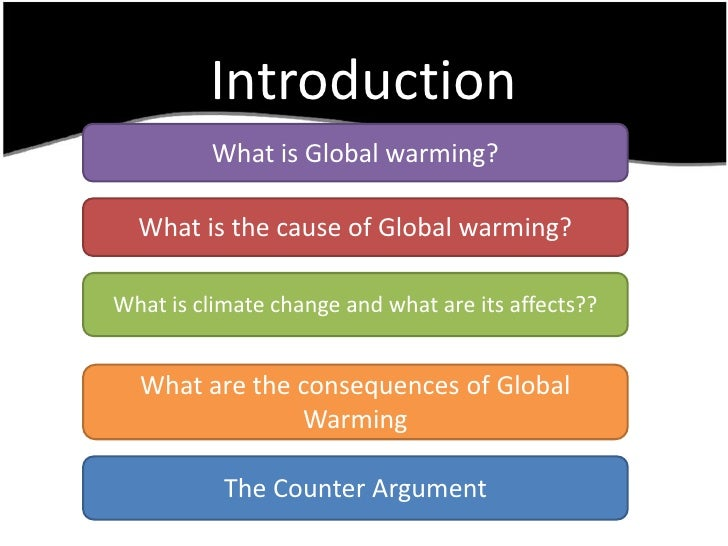 introduction essay for global warming