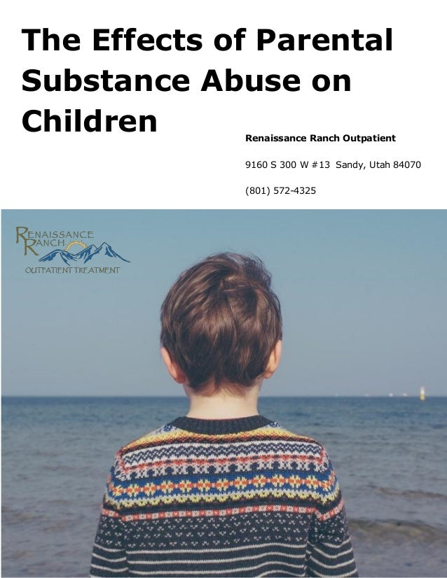 Families Affected by Parental Substance Use