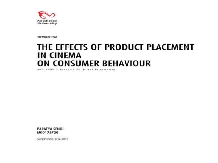 """The importance of product placement in films interms of building a brand image and the profitablereturn of the entertainm..."