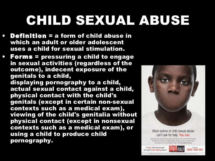 the issues regarding child sexual abuse Get the facts on the symptoms and signs of the different types of child abuse  the risk factors for child abuse include issues sexual abuse: the child who.