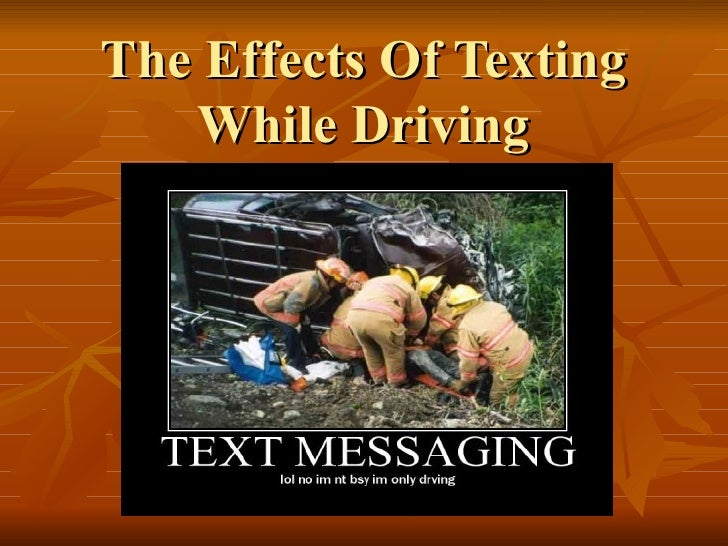 effects of texting Texting has become any every day task that many teenagers engage in on a day to day basis many of those text messages that are sent often contain textisms.