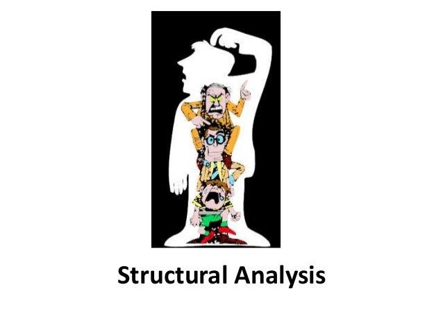 Structural Analysis - Transactional Analysis
