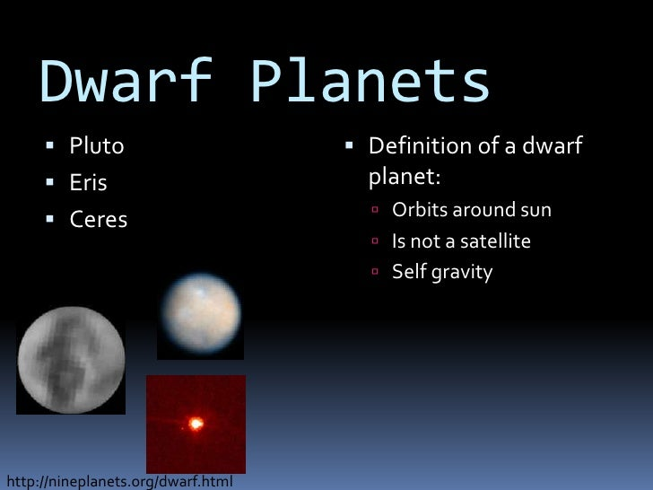 the 8 dwarf planets - photo #24