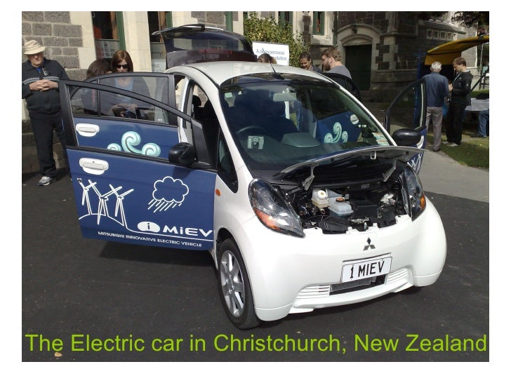 The Electric car in Christchurch, New Zealand