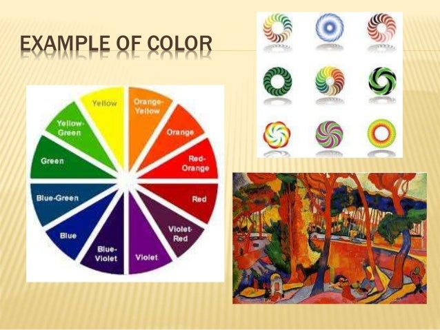 Elements Of Art Colour : The elements of art