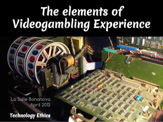 The Elements of Videogambling Experience