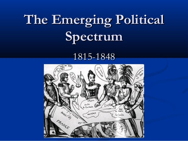 The Emerging Political Spectrum 1815-1848