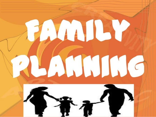 The end of family planning