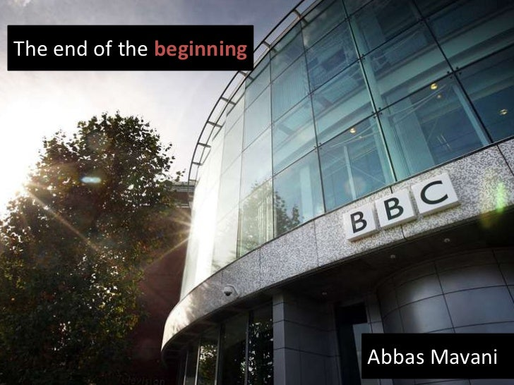 The end of the beginning   an agile coach's journey at the bbc
