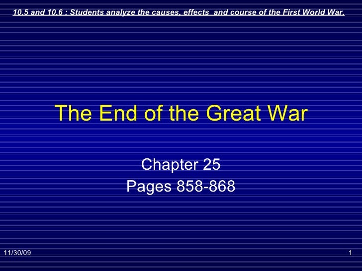 The End Of The Great War 4