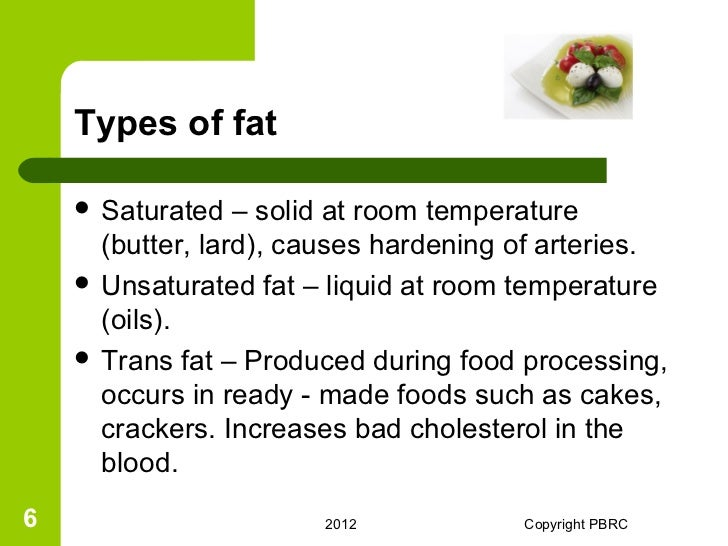 Are Saturated Fats Typically Liquid At Room Temperature
