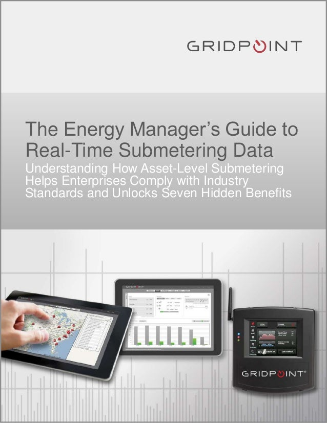 The energy manager's guide to real time submetering data 1.16.14