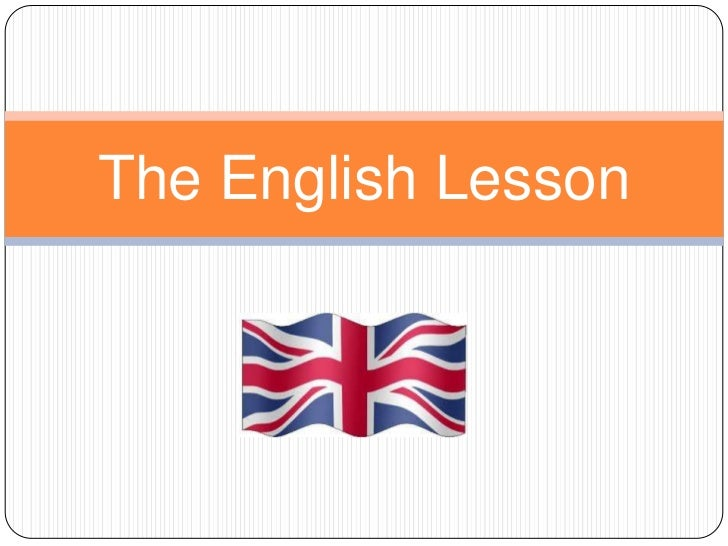 The English Lesson