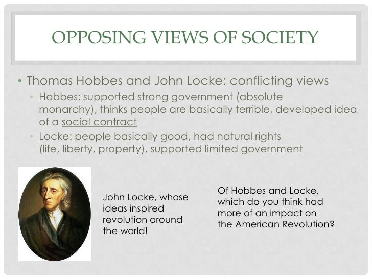 a comparison of hobbes and lockes philosophical viewpoints on law Hobbes, locke and rousseau comparison grid - download as word doc (doc / docx), pdf file (pdf), text file (txt) or read online.