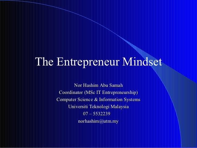The entrepreneur mind_set