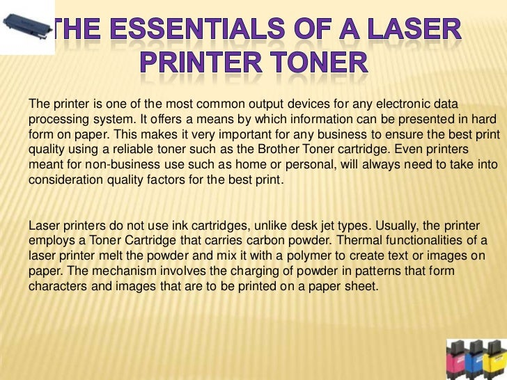 The printer is one of the most common output devices for any electronic dataprocessing system. It offers a means by which ...