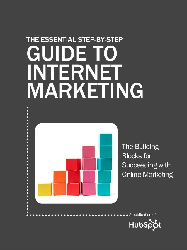The essential step by step guide to internet marketing