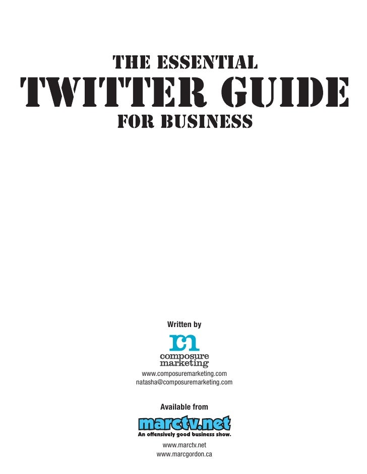 The Essential Twitter Guide for Business