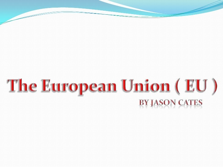 an overview of the european union Uses european terms that may not be familiar to us readers, we have defined these terms in a glossary at the end of this report 1 the european union, formerly referred to as the european community, currently consists of 15.