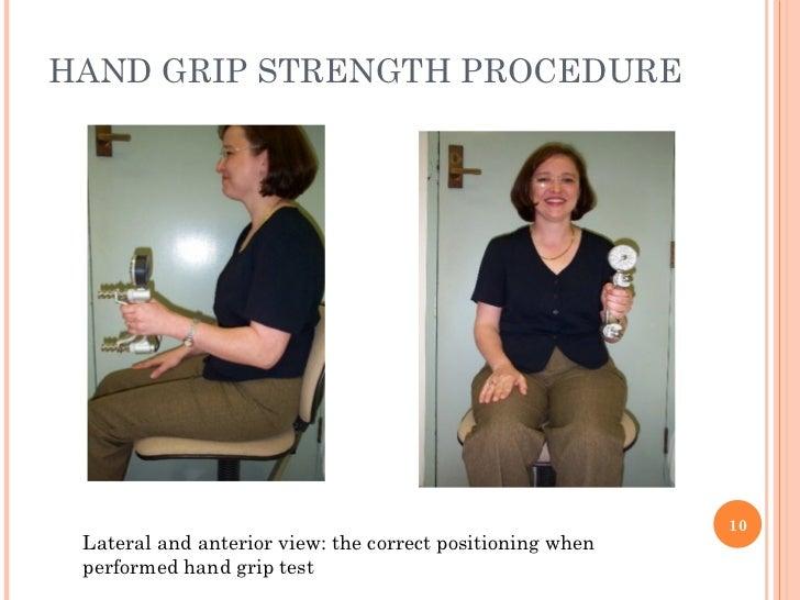 Badminton Hand Grips Hand Grip Strength Procedure