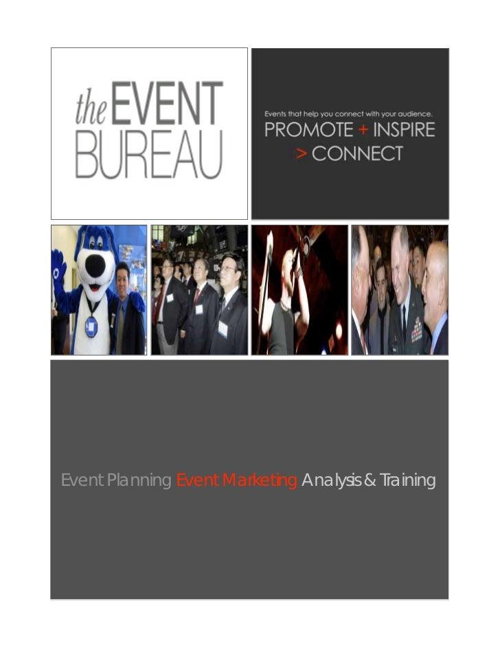 The Event Bureau Brochure