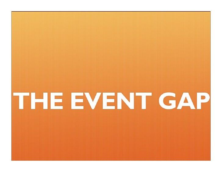 The Event Gap - Bryan Gray