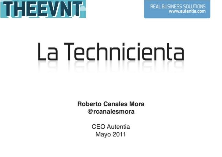La Technicienta en TheEvnt2011
