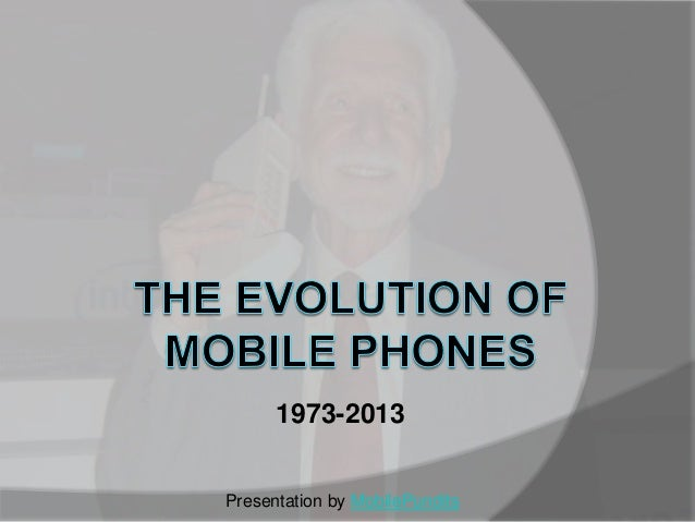 The evolution of mobile phones
