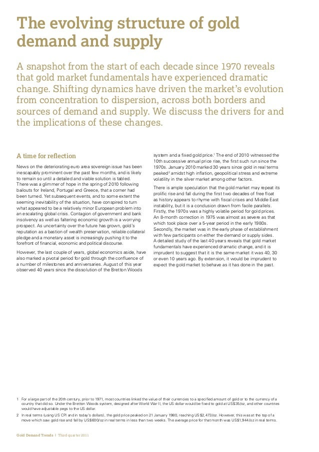 The evolving structure_of_gold_demand_and_supply
